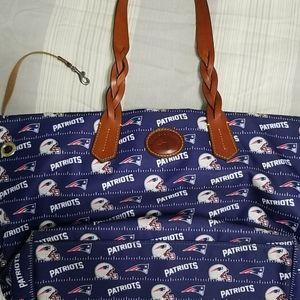 Dooney Patriots bag/tote/purse